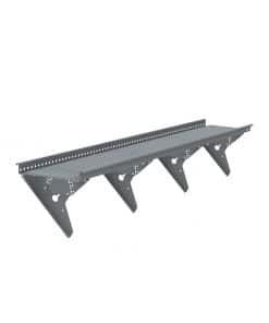 Huopakatto kiinnikkeillä varustettu asennusvalmis kattosiltapaketti. Kattosillan pituus kolme metriä.
